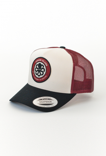 "Trucker Hat ""LOGO"" Burgundy"