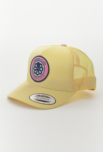 "Trucker Hat ""RAINBOW"" Yellow"