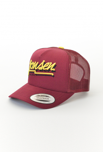 "Trucker Hat ""BUBBLE"" Burgundy"