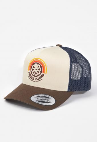 """Trucker Hat """"RAINBOW"""" Mud Sun"""