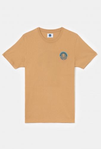 "T-Shirt Classic ""RAINBOW"" Tan"