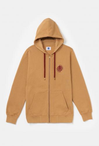 Sweatshirt FRESH «ROUNDED» Tan