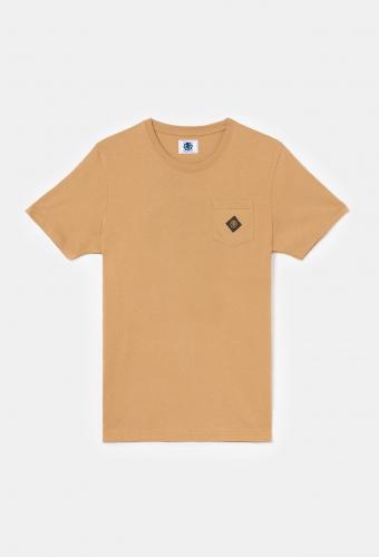"T-Shirt Pocket ""CAPRI"" Tan"