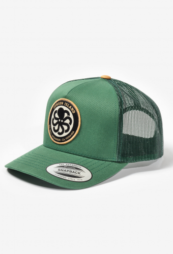 "Trucker Hat ""LOGO"" Green"