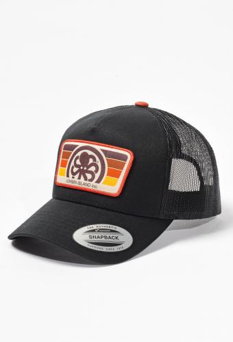 """Trucker Hat """"BURNED"""" Black"""