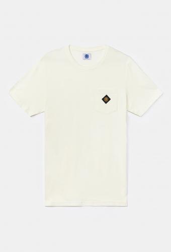 """T-Shirt Pocket """"CAPRI"""" Coconut"""