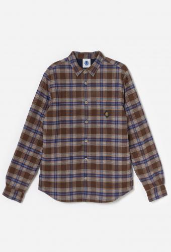 Shirt RANCH «LOGO» Blue SQ