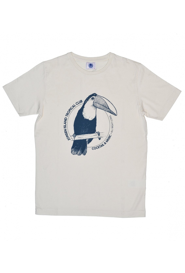 T-Shirt Classique «TOUCAN» NaturalWhite